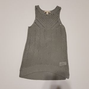 MK crochet tunic